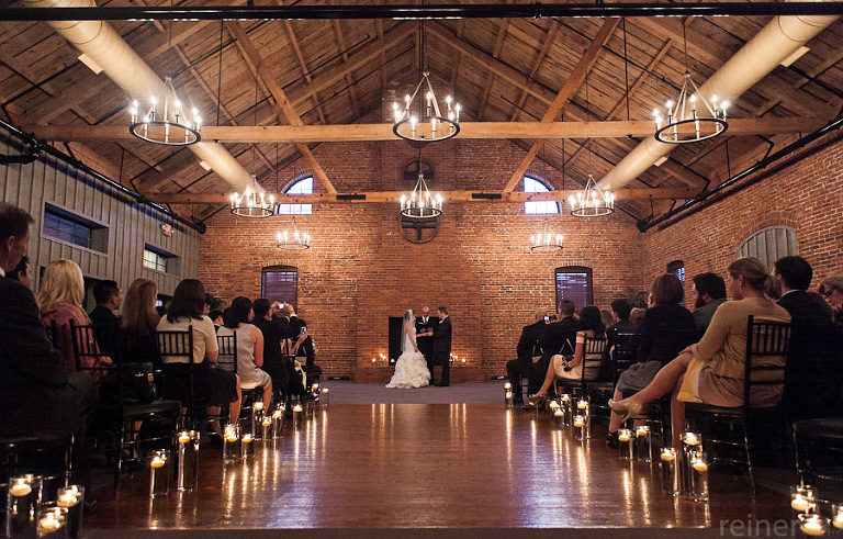 Wedding Ceremony At The Cork Factory Hotel In Lancaster Pa