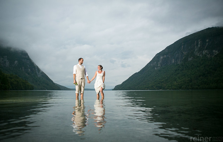 Dana And Josh S Wedding In Lake Willoughby Vt Reiner Photography
